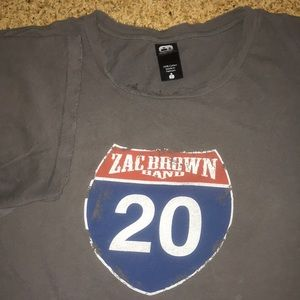 Other - Alternative Vintage Soft Zac Brown T-shirt Large